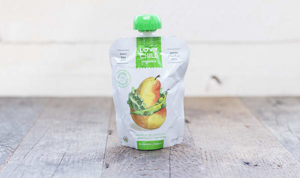 Organic Super Blends Kale, Peas & Pear