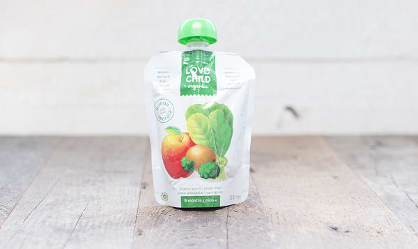 Organic Super Blends Apple, Spinach, Kiwi & Broccoli