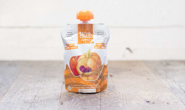 Organic Power Yo'rridge - Apple, Pumpkin, Raisin & Cinnamon