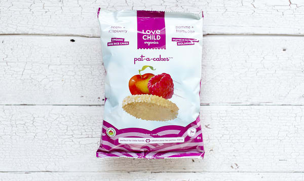 Organic Pat-A-Cakes - Apple & Raspberry