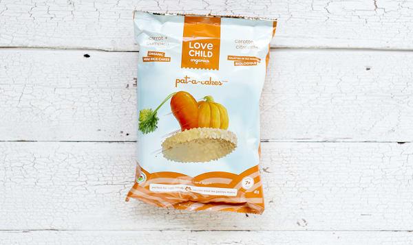 Organic Pat-A-Cakes - Carrot & Pumpkin