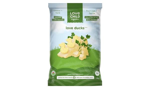 Organic Cheese & Herbs Love Ducks