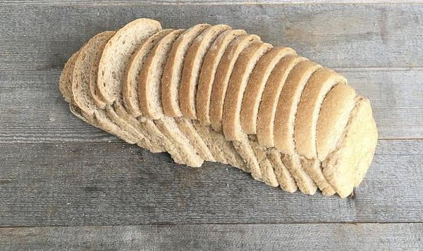 Sourdough Rye Bread - sliced