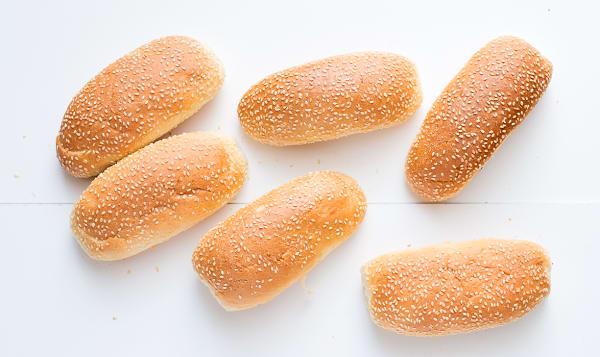 Brioche Hotdog Sesame Seed Buns