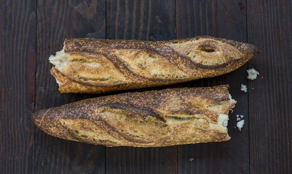 Organic Sourdough Baguette
