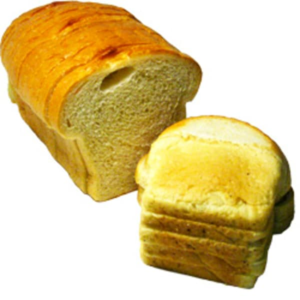 White Loaf Bread - Sliced
