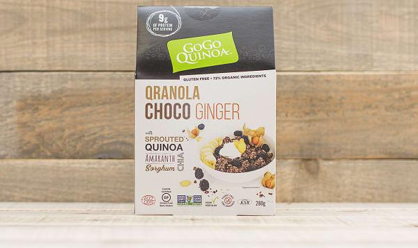 Organic Qranola Choco Ginger
