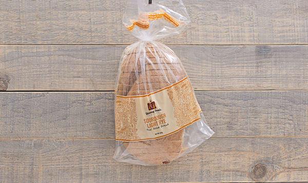 Sourdough Light Rye Bread
