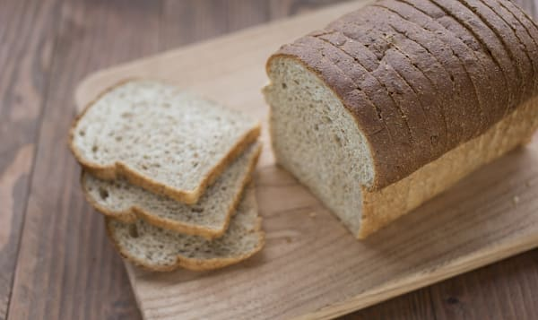 Cracked Wheat Sunflower Bread Sliced