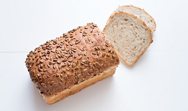 Whole Wheat Sunflower Loaf Unsliced