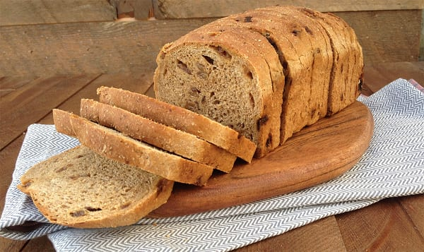 Organic Cinnamon Raisin Sliced Bread