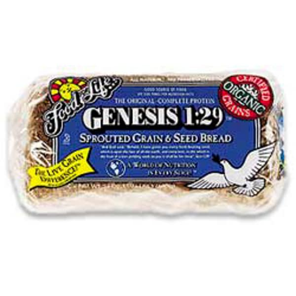 Organic Sprouted Grain & Seed Genesis Sliced Bread (Frozen)