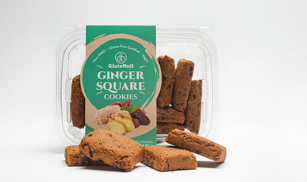 Ginger Square Gingerbread