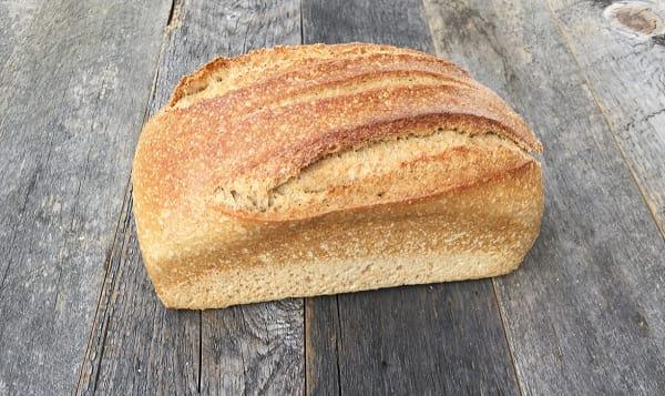 Organic Yeast-free Spelt Bread