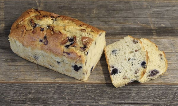 Blueberry Pecan Poundcake