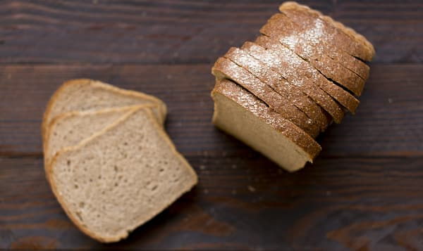 Organic German Sourdough Rye Bread, Sliced
