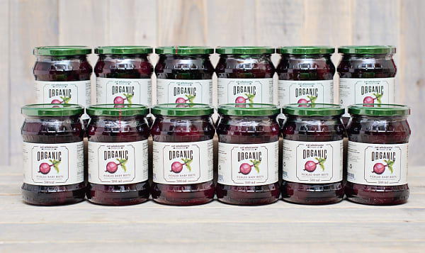 Organic Pickled Baby Beets - CASE
