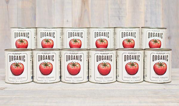 Organic Crushed Tomatoes - CASE