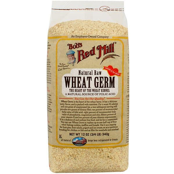 Natural Raw Wheat Germ