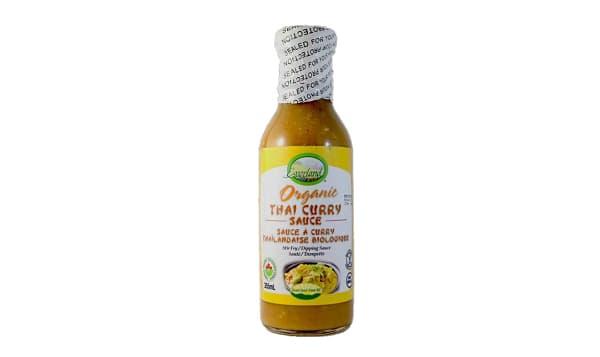 Organic Thai Curry Sauce