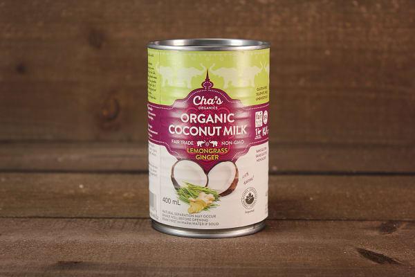 Organic Lemon Ginger Coconut Milk (BPA & Gum Free)