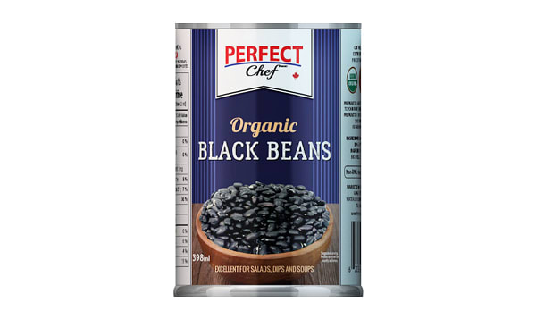 Organic Black Beans with Sea Salt