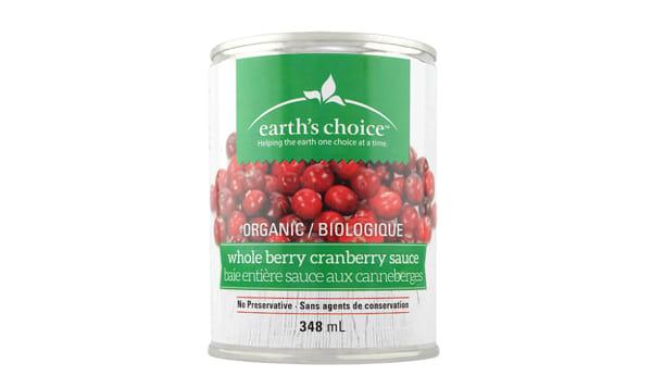 Organic Whole Cranberry Sauce