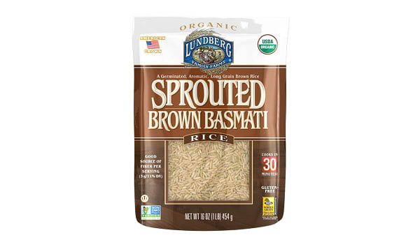 Sprouted Brown Basmati
