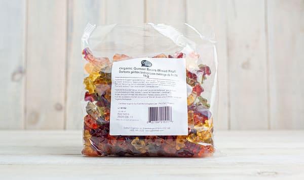 Organic Gummi Bears, Fruit, GoBIO!