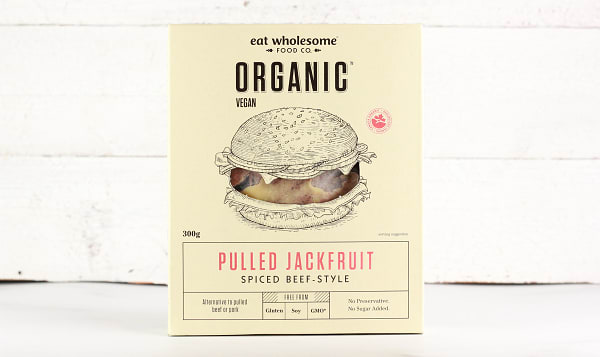 Organic Pulled Jackfruit - Spiced Beef-Style