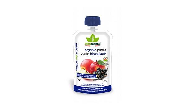 Organic Apple Black Currant Puree