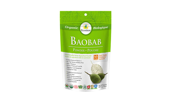 Organic Baobab Fruit Pulp Powder