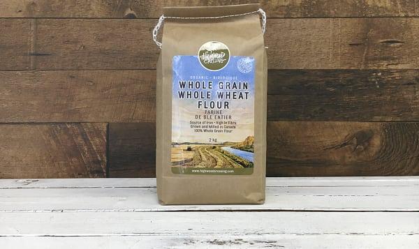Organic Flour, Whole Wheat