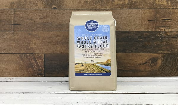 Organic Flour, Whole Wheat Pastry