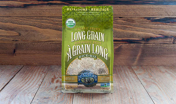 Organic Rice, Long Grain Brown