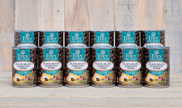 Organic Black Beans - BPA Free - CASE
