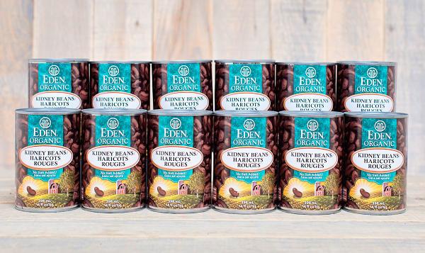 Organic Kidney Beans - BPA Free - CASE