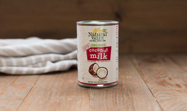 Organic Lite Coconut Milk (BPA & Gum Free)