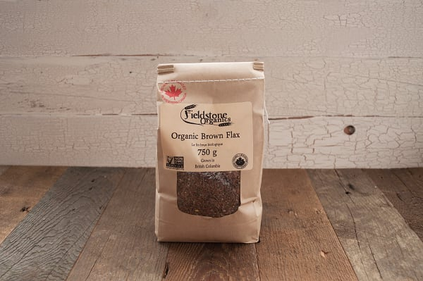 Organic Western Canadian Brown Flax