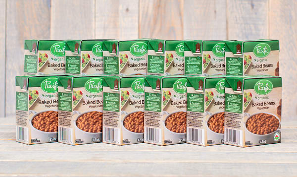 Organic Baked Beans - CASE