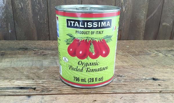 Organic Italian Peeled Tomatoes