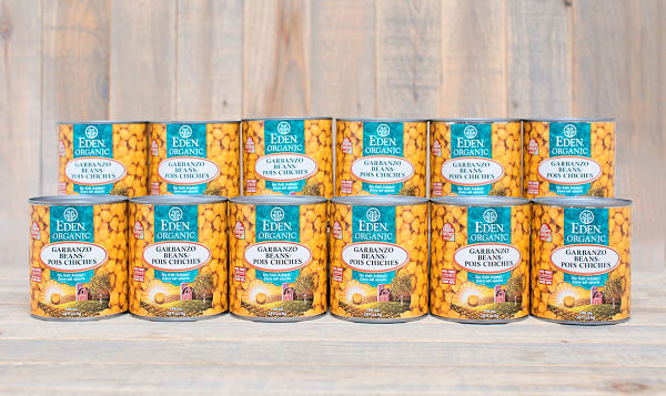 Organic Garbanzo Beans - BPA Free - CASE