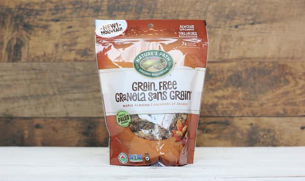 Organic Grain Free Maple Almond Granola