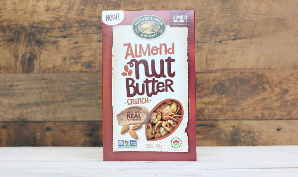 Organic Almond Nut Butter Crunch