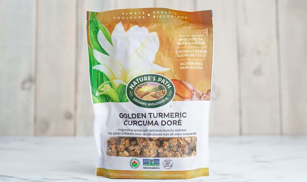 Organic Golden Turmeric Granola