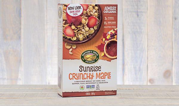 Organic Crunchy Maple Breakfast Cereal