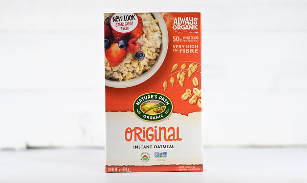 Organic Original Instant Hot Oatmeal - Sugar-Free