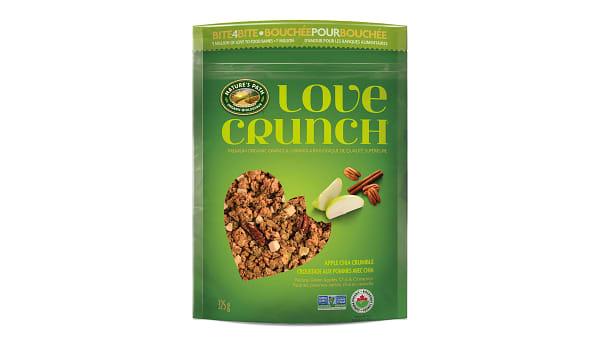 Organic Love Crunch Granola - Apple Crumble