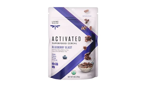Organic Superfood Cereal - Blueberry Blast, w/Live Cultures