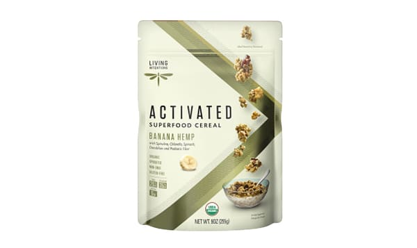 Organic Superfood Cereal - Banana Hemp, w/Live Cultures